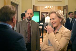 Glenn Close as SCOTUS nominee on The West Wing