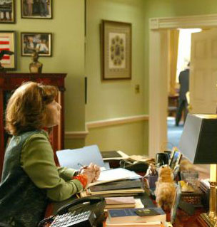west wing oval office. Lily Tomlin As Debbie Fiderer, The President\u0027s Secretary. Seen At Her Desk Outside Oval Office West Wing A